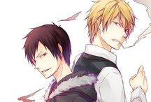 Shizuo x Izaya / Shizaya love. Officially my otp. They compete each other guys!