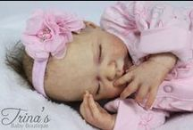Reborn Lifelike Dolls - Trina's Baby Boutique / Life like dolls created by Profession Reborn Artist Patrina Burgess