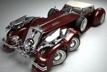 OLD VINTAGE CARS / They not only yesterday the hearts of car enthusiasts beat faster : Old Vintage Cars. / by Jack Frain