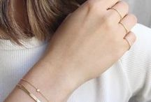 .Lightly Layer. / Karat Gold Jewelry Styling Inspiration & Trends! Visit mayisgoldmonth.com and our social channels to find out about savings on gold jewelry this Spring!  Link in our Profile Bio.   MayisGoldMonth.com #MIGM #MayIsGoldMonth #KaratGold #Gold #Layer #Jewelry