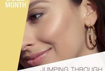 .2017 TREND 2 - Jumpin' Through Hoops. / IT'S WEEK 2 OF #MayisGoldMonth AND THIS WEEK IS ALL ABOUT JUMPIN' THROUGH HOOPS! The BIGGEST names in the jewelry industry have partnered up to bring you the best deals on Karat Gold jewelry all month long. Check this board out for #Hoops and styling tips! Enjoy #MayisGoldMonth! #JumpinThroughHoops #MIGM #Gold #Earrings
