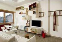 INTERIORS / Realizzazioni Q21 su misura per spazi interni Original Own-design by LaQuercia21