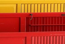 Red and Yellow / Trying to like a color combo of which I am unfond!