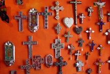 CROSSES... / a worldwide celebration of art, Spirit, and faith... / by Kath Engelsman