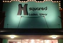 Welcome to H Squared / A few of our ads, inside our store, fashion show pictures, and more!