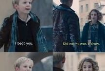 The Book Thief <3 / Loved the book and then loved the movie. The characters were exactly how i imagened them. My favorite one is absolutely Rudy, adorable :D