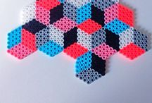 Hama beats patterns / Good ideas for hama pearls , you can make by your self.