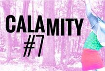 Calamity Posters + Design / Posters designed for Calamity events and other materials we use when we design stuff!