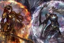 League of Legends refs / Leona references