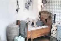 Boys room / Vintage, rustic, romantic, farmhouse, country, brocante, white, Scandinavian style