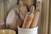 Kitchen & Co. / Vintage, rustic, romantic, farmhouse, country, brocante, white, Scandinavian style