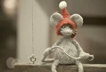 Animals and Birds Softies Shapes Motifs Clothes etc / Knitted Animals / by Mia Self