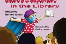 There's a Superhero in the Library / A little boy discovers his beloved librarian has cancer. She's gone. Then one day a new librarian arrives dressed like a wacky superhero. Should he give her a chance? This book will be released September 2013 through Mirror Publishing!
