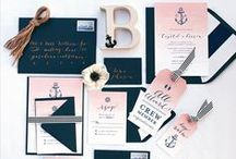 Weddings { Wedding Stationery } / The best inspiration for wedding stationery from other Pinners. Think outside the box.