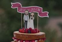 Wedding { Cakes } / Mmmmm because everyone loves cake