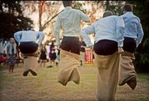 Wedding { Games } / Add some fun & get those endorphins going!