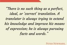 Quotes about translation and language / Quotes about translation and language