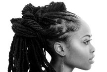 Loc inspiration / Loc hairstyles I love!