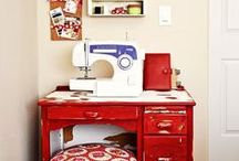 Create Your Space / Ideas to help you create your own sewing space.