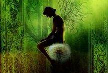 Faerie, magical, mythical,  + LOTR & Discworld.