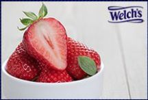 Welch's Stupendous Strawberries / No need to wait for picking season to enjoy these creative concoctions!