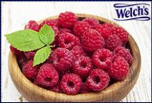 Welch's Ravishing Raspberries / No need to wait for picking season to enjoy this creative concoctions!