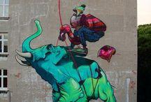 Thought provoking and fun art / Street art, sculpture ideas inspiration