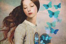 Blue art / Paintings blue artists