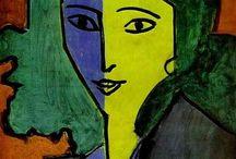 Green art / Paintings artists green