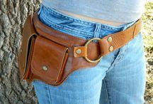 Sewing bags, hip, waist, bum / Hip bags, fanny packs, waist bags, hip purse, bum bags, sewing bags, DIY