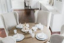 White Interiors / All white everything, white kitchen, neutral decor, white details