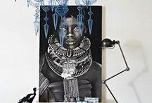 Hagereseb Home - African Decor / African inspired home decor ideas, home design, interior design