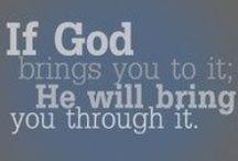 Faith / Living a life for Jesus