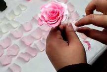 Çicek nasıl yapılır / Çiçek nasıl yapılır