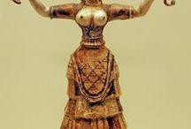 Ceramic archeology minoan   crete  2000 BC - / minéen  crète