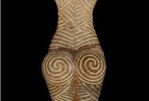 Ceramic neolithic  Danube Vinca Cucuteni / europe civilization