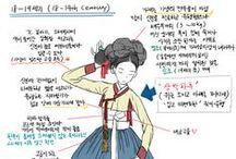 한복 Hanbok / Traditional Korean Clothing
