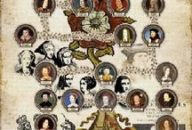 Historia Britannica: William The Conquerer to Victoria / British royals, nobles and European relatives. / by Jacque Peters