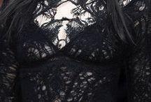 Schwarz Schwarz sind alle meine Kleider / Ebony dressed for sunset