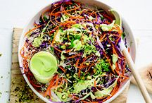 Scrumptious Salads / Crunchy, colourful and with lashings of flavour!