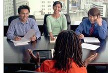 Job Interviews / Pins & Artiles that will help you Ace your next JOB INTERVIEW..