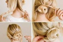 Hairstyle Tutorial / so cute when i see many creative hairstyle. so, happy pinning!!