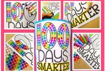 Easy 100th day of school / 100th day of school ideas for the 100th day of school.  Lots of 100th day of school art and  100th day of school activities for all grades!   These ideas are easy to implement in your classroom tomorrow!