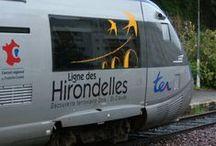 Ligne des Hirondelles - Jura / La Ligne des Hirondelles, une aventure ferroviaire à travers le Jura, au départ de Dole  http://www.lignedeshirondelles.fr/fr/index.php