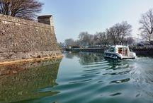Croisière sur le Doubs - Les Bateaux Nicols / Retour des bateaux Nicols au port de Dole !  Le début de saison arrive : mise à flot des bateaux au port de Dole, soleil au rendez-vous… N'hésitez pas à réserver!  Plus d'infos : http://www.nicols.com/croisiere-fluviale/france/location-bateau-franche-comte/canal-rhone-rhin