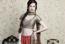 Indian Saree Collection / ownow.com is india's largest Online India shopping website here you can buy best collection of sarees lenhga Choli, Ghagra choli etc / by ownow