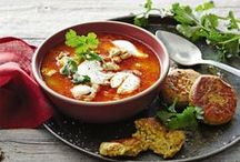 Winter Warmers / Take a taste trip around the world of international soups & keep warm this winter!