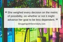 BLOG GRAPHICS / Struggling with Serendipity: bit.ly/SerendipityHome