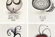 Tim Burton Drawings/Sketches