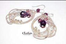 wire wrap jewelries / Handmade wire wrap jewelry